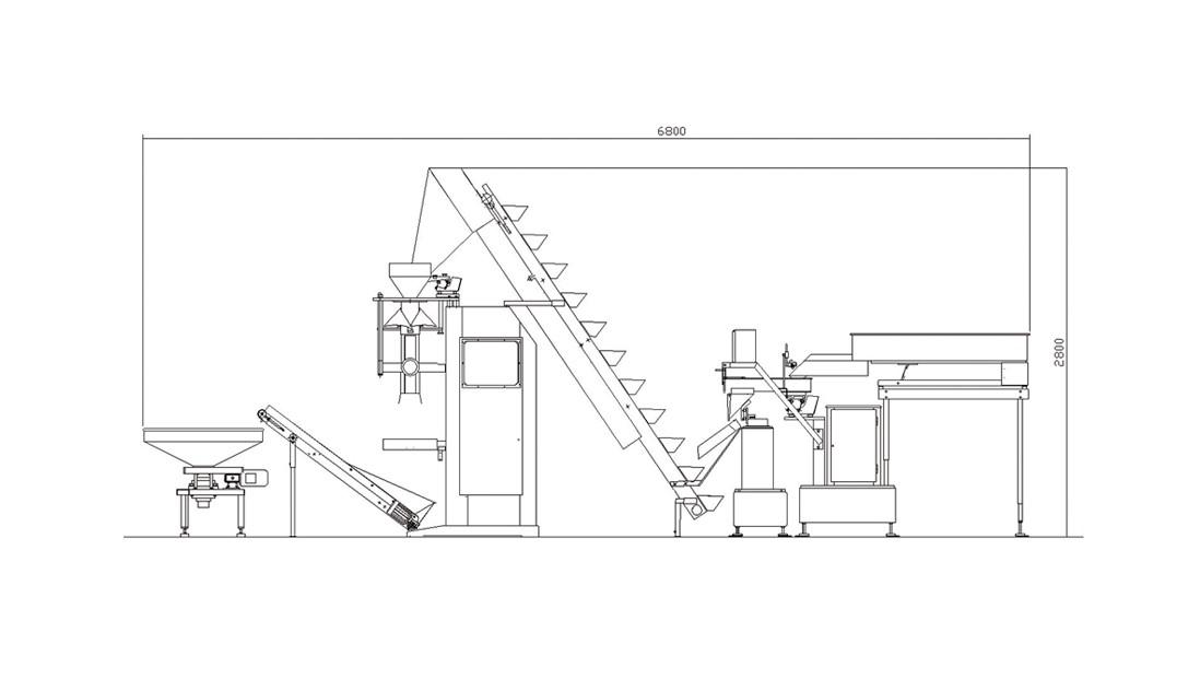 PB 210 - 2C INOX - plano